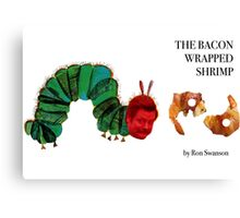 The Bacon Wrapped Shrimp Canvas Print