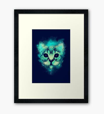 Cosmic Cat Framed Print