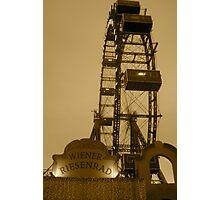 Wiener Riesenrad Photographic Print