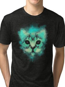 Cosmic Cat Tri-blend T-Shirt