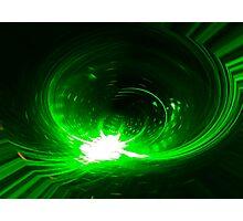 Green Print Photographic Print