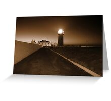 Loop Head Lighthouse Greeting Card