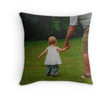 Grandpa's Hand Throw Pillow