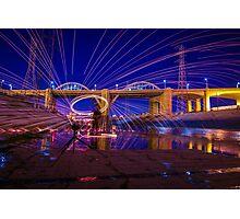 Under the Bridge, We Spin Photographic Print