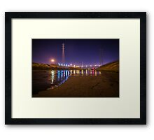 There's No Sea Left For Me Framed Print