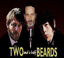 Two and a half Beards by Claukx Apparel