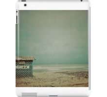 Wintertime and the living is easy iPad Case/Skin
