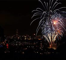 Cremorne Point Sydney bringing in the New Year by karleyk