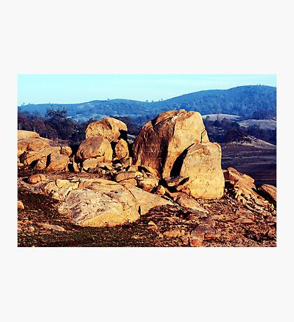 A Rocky Summit Photographic Print