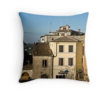 picturesque view Throw Pillow