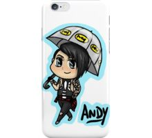 BVB - Andy Biersack with an Umbrella iPhone Case/Skin