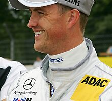 Mercedes DTM Driver Ralph Schumacher by Mark Greenwood