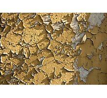 peeling wall Photographic Print