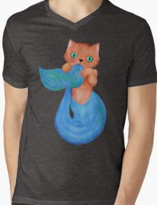 Merkitten Life Lesson #14 - You are NOT your food Mens V-Neck T-Shirt