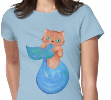 Merkitten Life Lesson #14 - You are NOT your food Womens Fitted T-Shirt