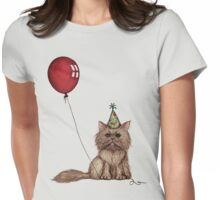 Kitty Celebration Womens Fitted T-Shirt