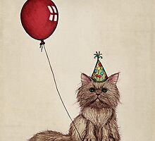Kitty Celebration by micklyn