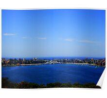 Manly, Sydney, Australia  Poster