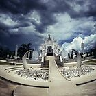 White Temple, Chiang Rai, Thailand. by Marcus Way