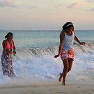 sunset fun  by dinghysailor1