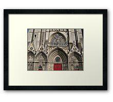 Beautiful Church in Bayeaux France Framed Print