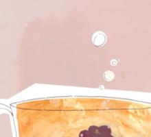 Teafish Sticker