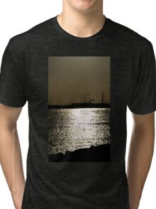 SUNSET - ELWOOD BEACH AUSTRALIA Tri-blend T-Shirt