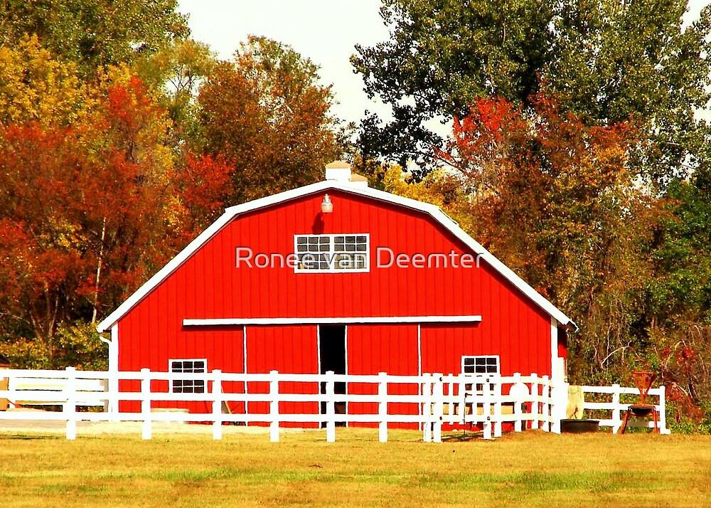The Red Barn by Ronee van Deemter