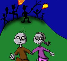 Zombie Love Story  by Rajee