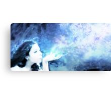 Souffle d'hiver Canvas Print