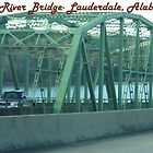 Elk River Bridge- Lauderdale, Alabama by Bea Godbee