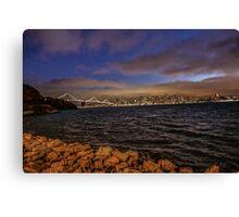 Bay Area, Illuminated Canvas Print