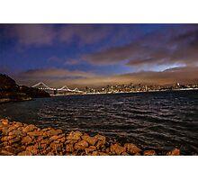 Bay Area, Illuminated Photographic Print