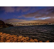 Bay Area, Illuminated Photographic Print