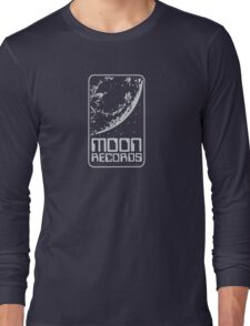 Moon Records Label Long Sleeve T-Shirt