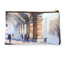 Morning in the GPO Colonnade Studio Pouch