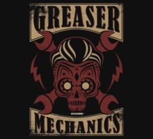 Rockabilly Greaser Mechanics Vintage Design | Classic by GTOclothing