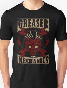 Rockabilly Greaser Mechanics Vintage Design | Classic T-Shirt