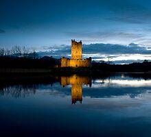 Ross Castle.KIllarney, Ireland. by Teddy  Sugrue