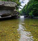 Bartlett Falls, Bristol, Vermont by Stephen Beattie