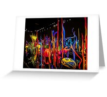 Chihuly's Blown Glass Greeting Card