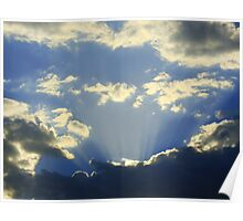 Cloudy Skyscape  Poster