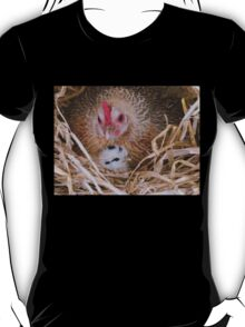 My Little Fluff Ball - Hen & Chick NZ T-Shirt