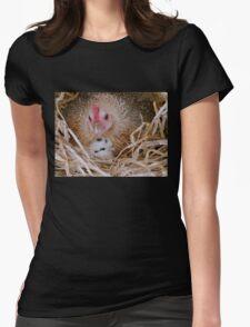 My Little Fluff Ball - Hen & Chick NZ Womens Fitted T-Shirt