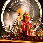 Big Wheel at Cardiff Winter Wonderland by antonywilliams