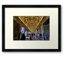 Hall of Maps - Vatican City Framed Print
