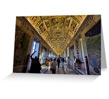 Hall of Maps - Vatican City Greeting Card
