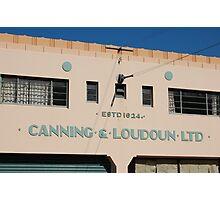 Canning & Loudoun Ltd (Napier) Photographic Print