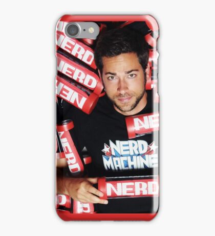 Zachary Levi Nerd Machine iPhone Case/Skin
