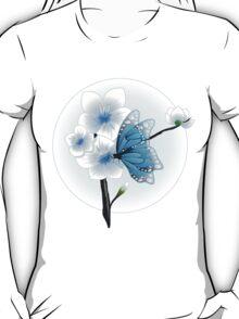 Joy Of Spring Case - Spring Blossom & Blue Butterfly T-Shirt